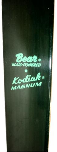 Bear Kodiak Magnum Recurve Bow  name