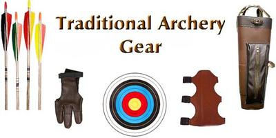 Arrows / Gloves / Targets / Armguards / Quivers