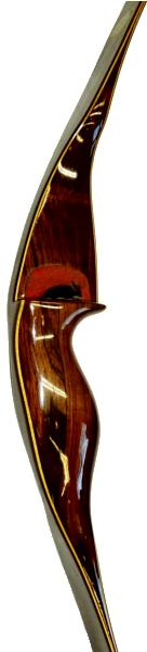 Wing Red Wing Hunter Recurve Bow - riser and shelf